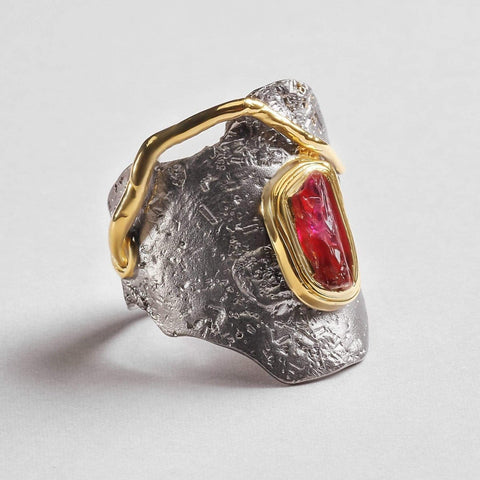 Veturia Ruby Ring