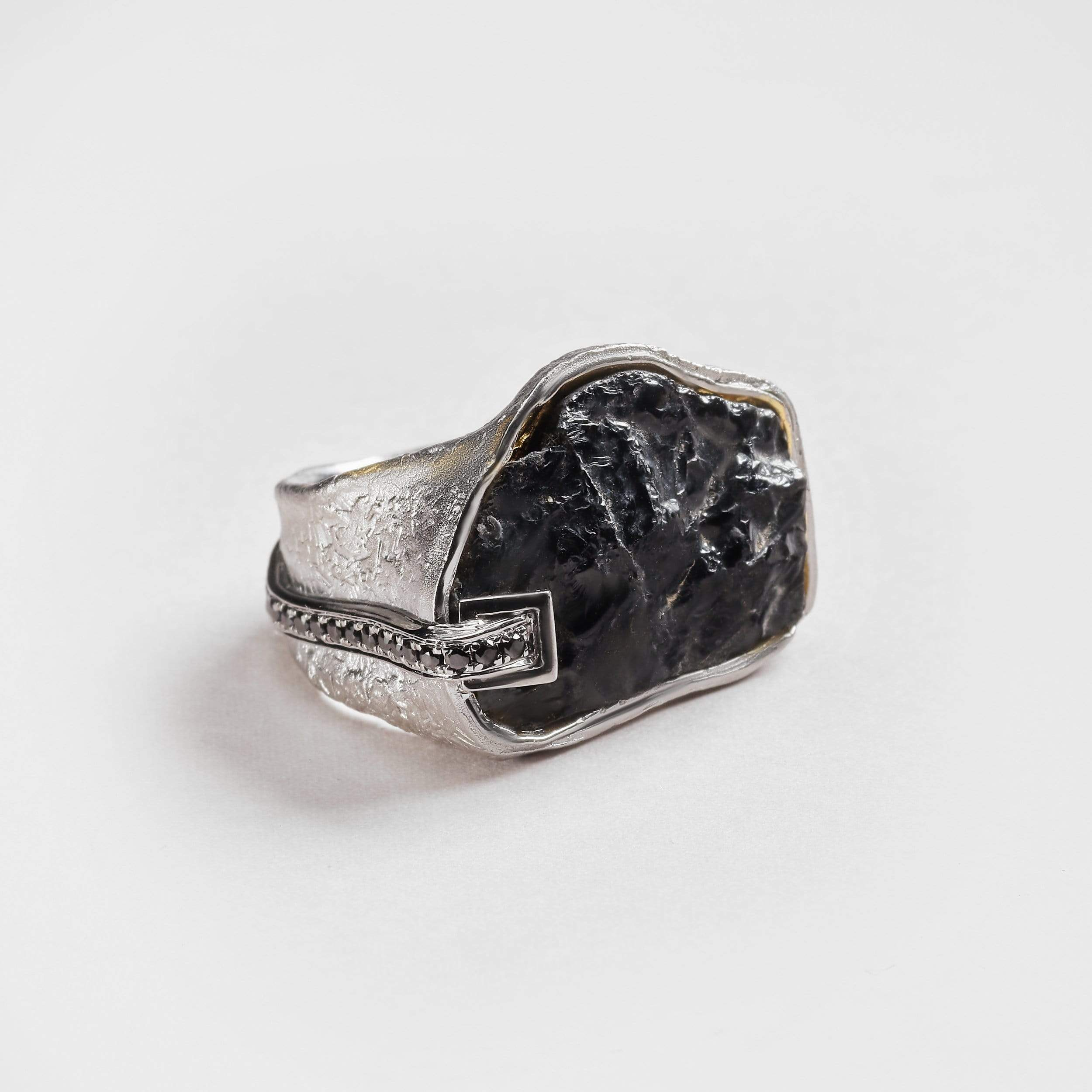 Ania Tourmaline and Black Spinel Ring