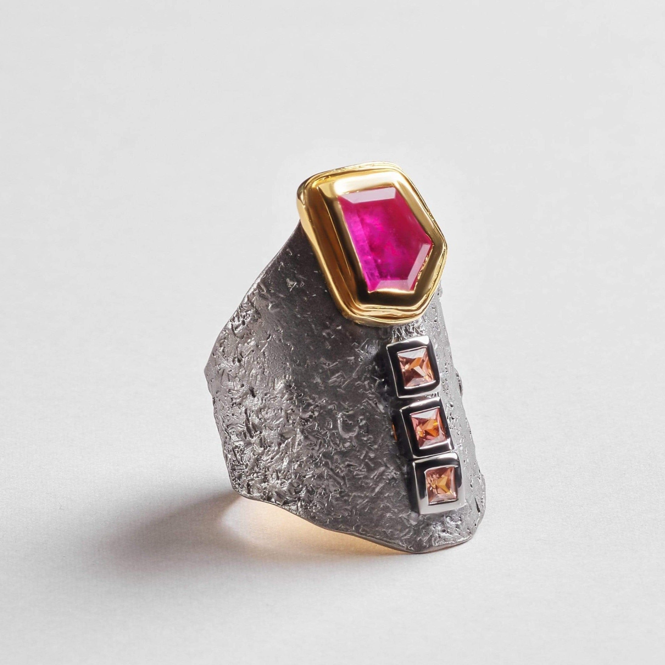 Solas Ruby Ring
