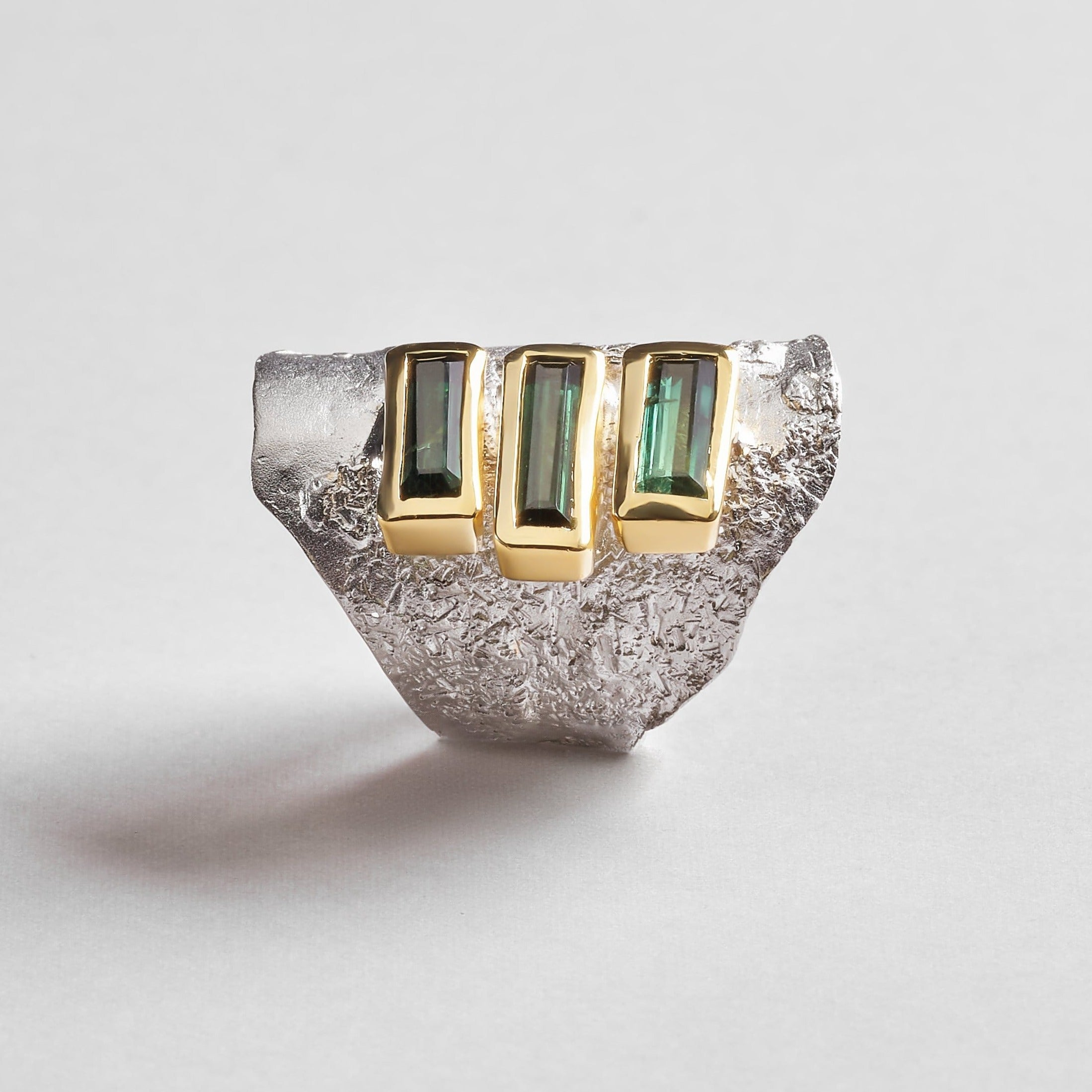 Meiden Green Tourmaline Ring