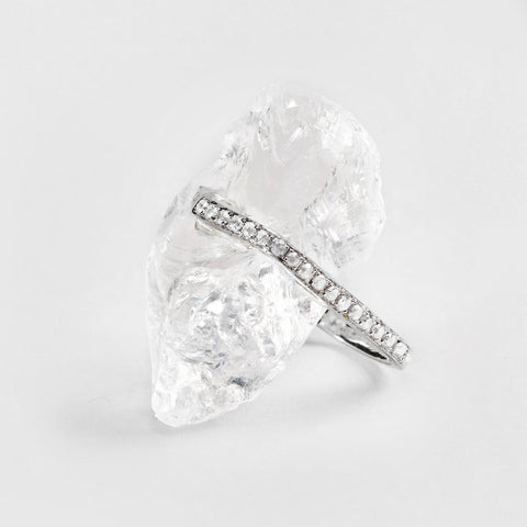 Neia Quartz and Zircon Ring