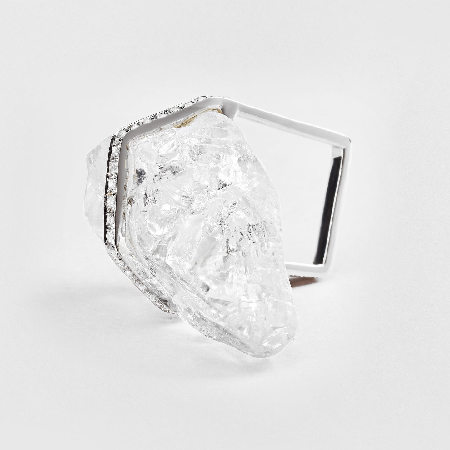 Iva Quartz and Zircon Ring