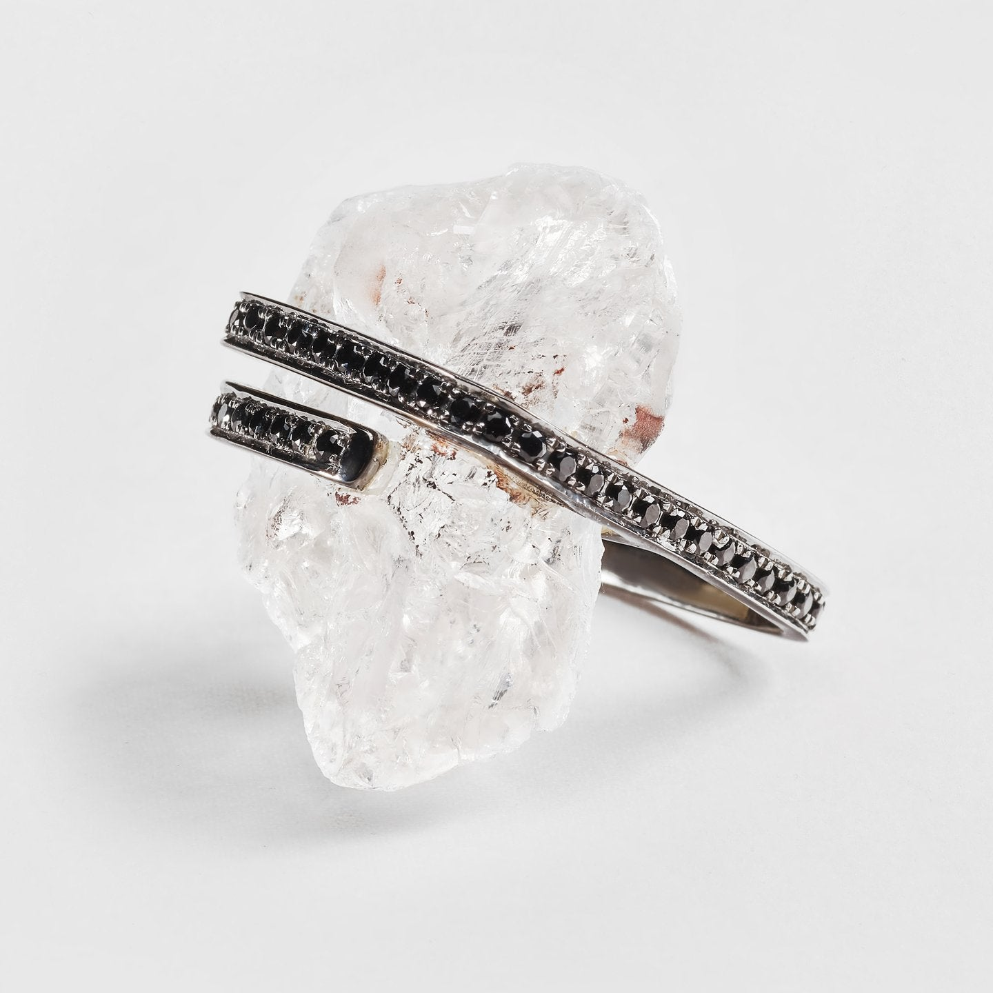 Tauria Quartz and Spinel Ring