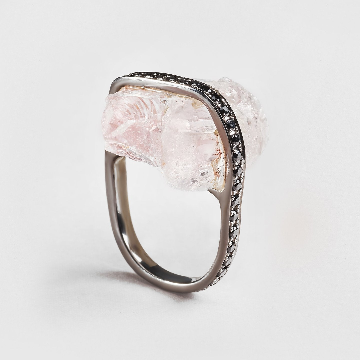 Arria Quartz and Spinel Ring