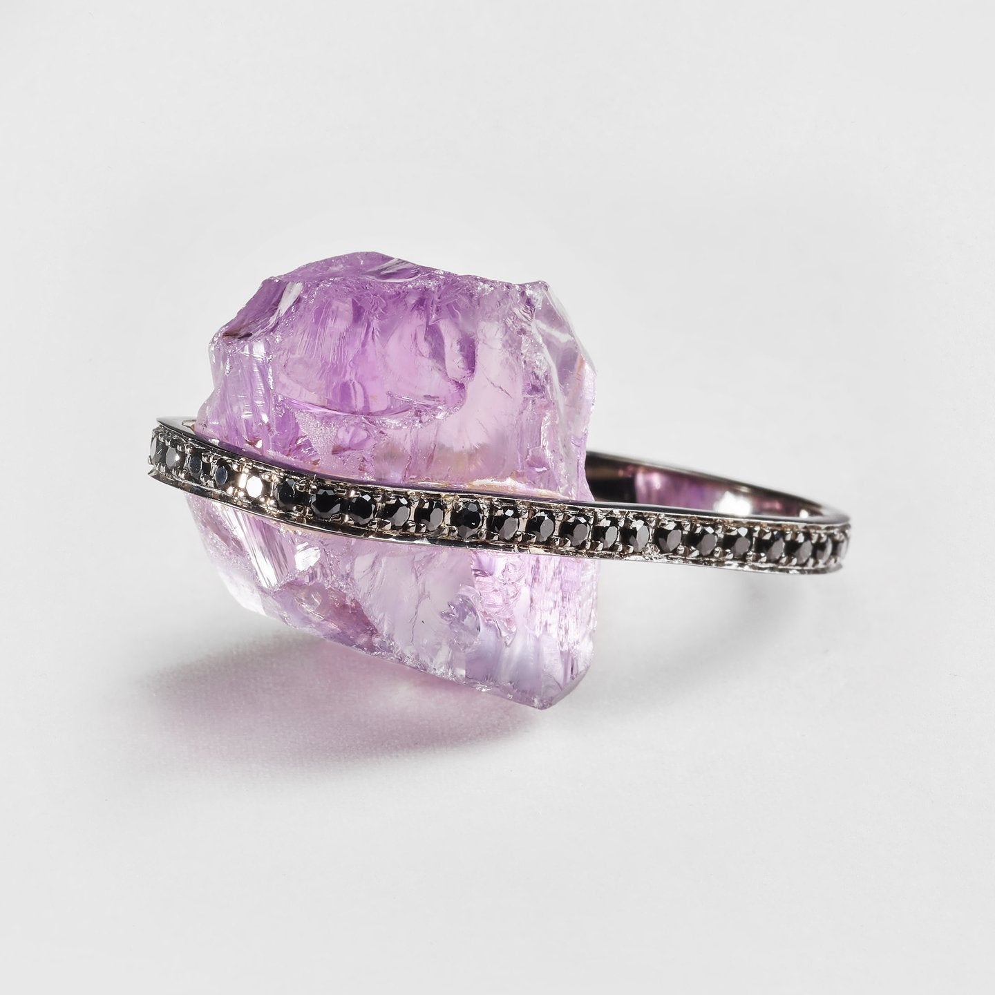 Valeria Amethyst and Spinel Ring