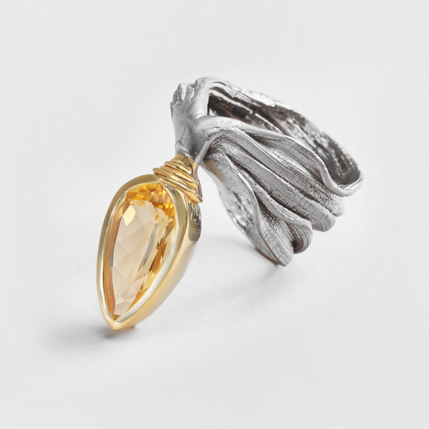 Caisa Citrine Ring