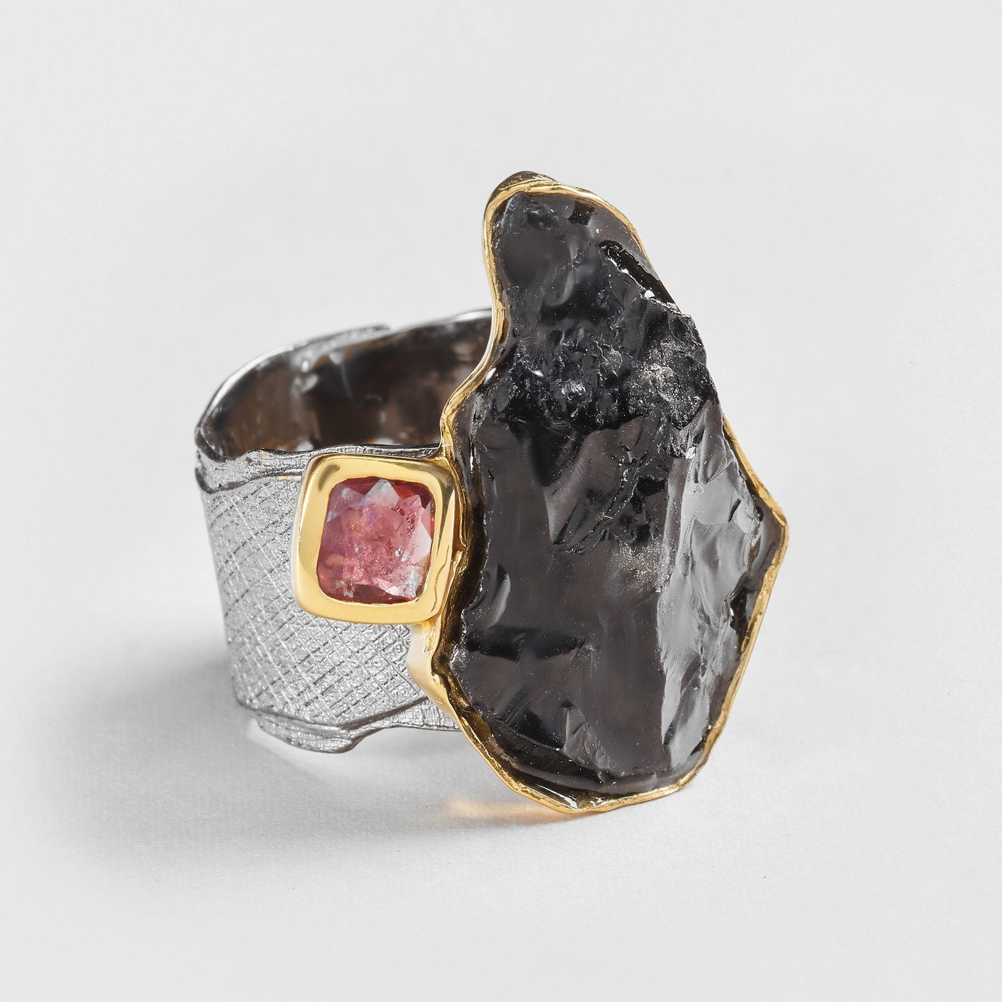 Damra Tourmaline and Spinel Ring