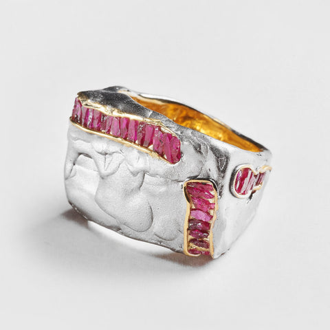 Aure Ruby Ring