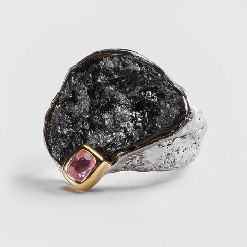 Sabin Tourmaline and Spinel Ring