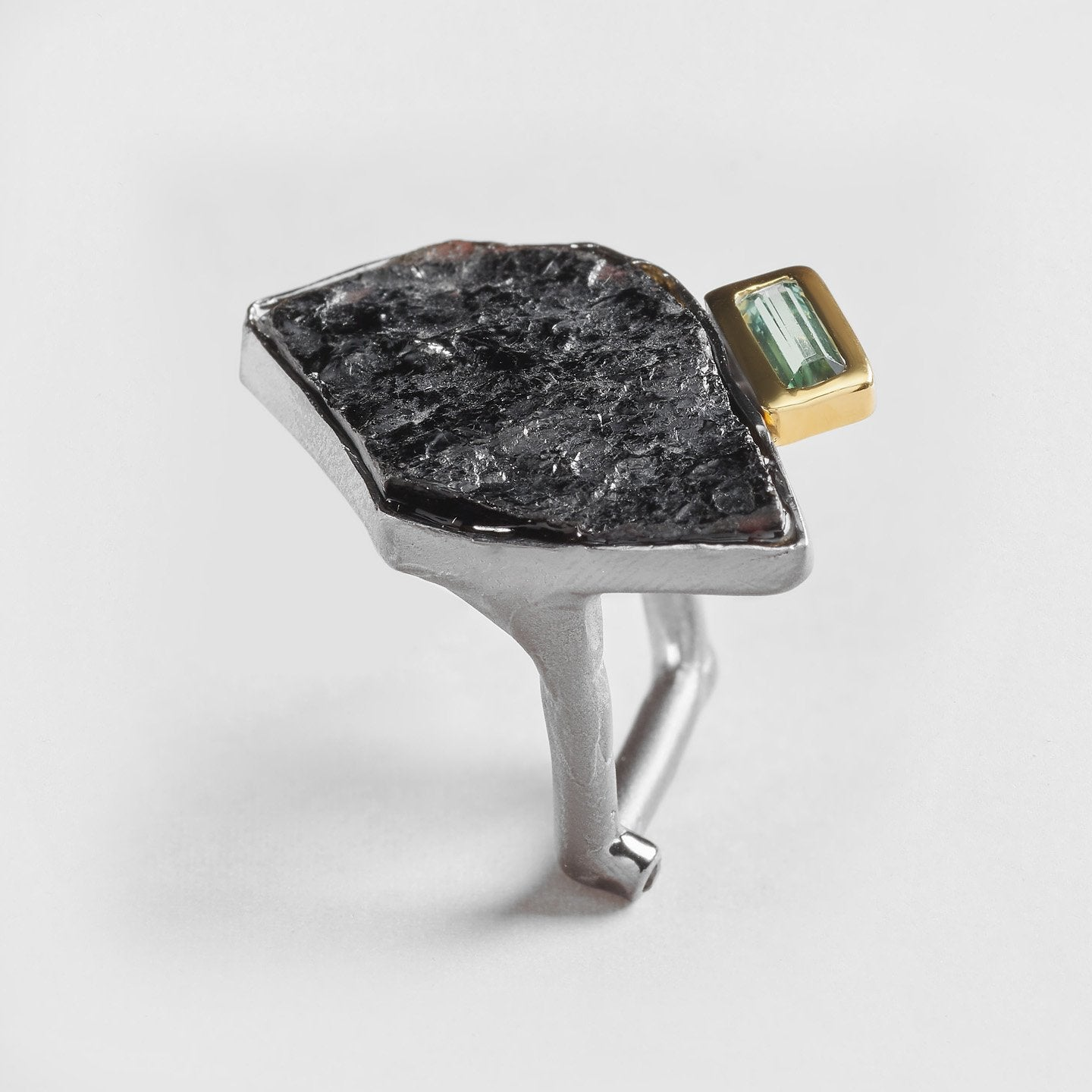Cahir Tourmaline and Spinel Ring