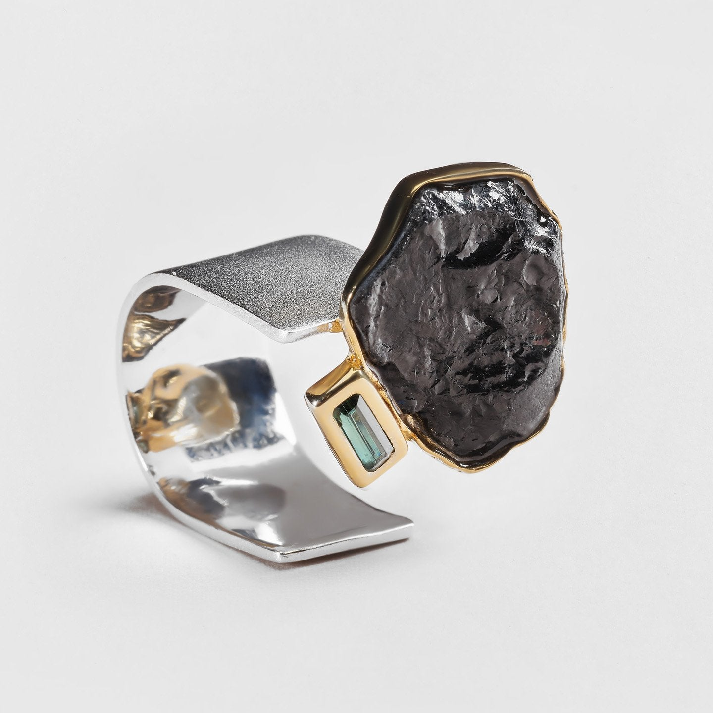Mene Tourmaline and Spinel Ring
