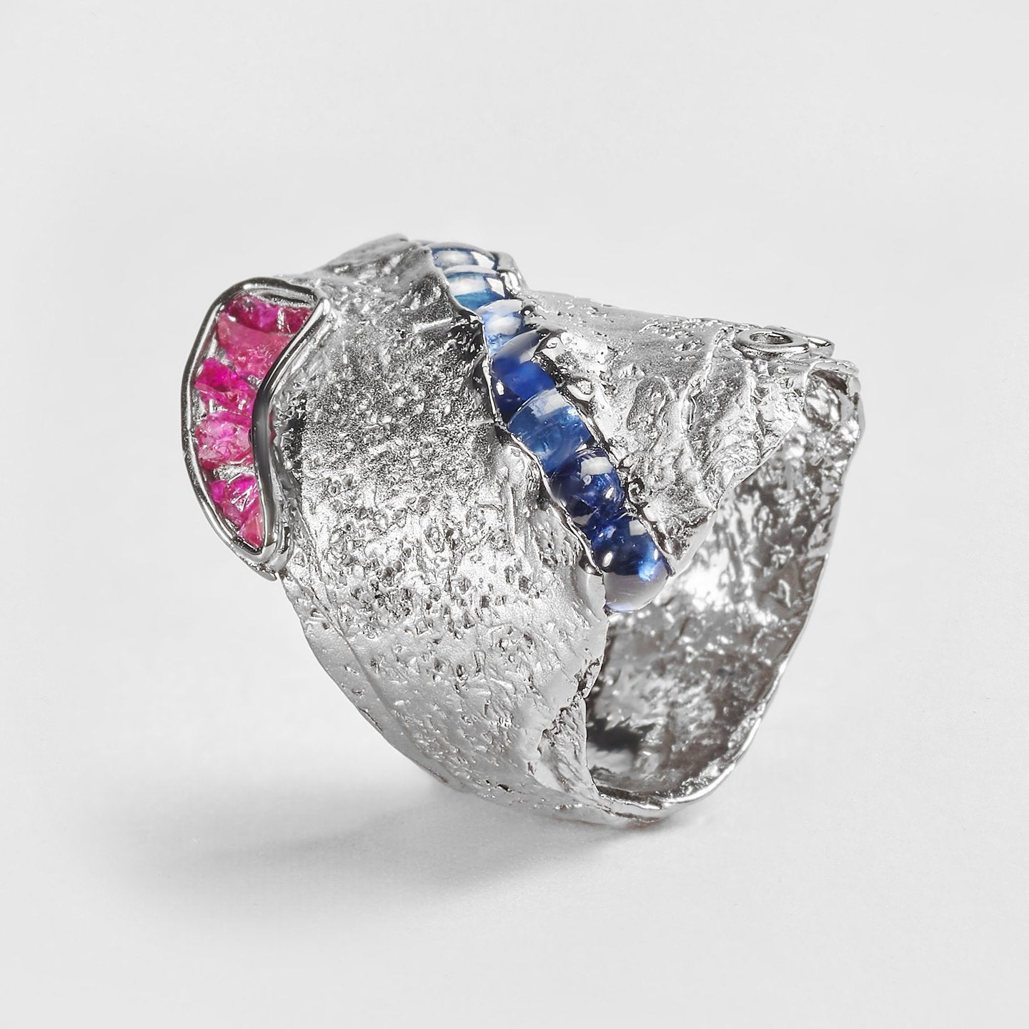 Odyl Sapphire and Ruby Ring
