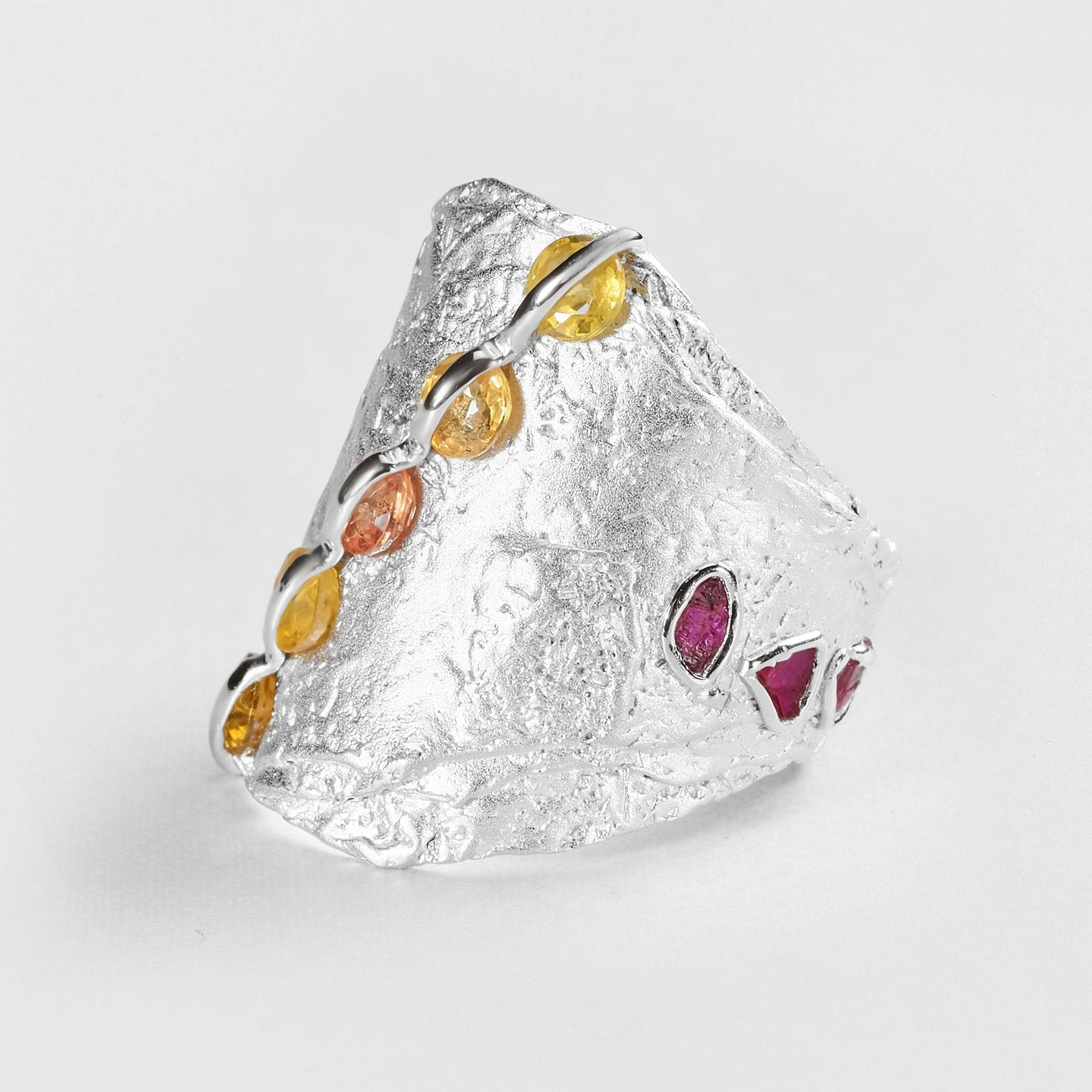 Aliz Sapphire and Ruby Ring