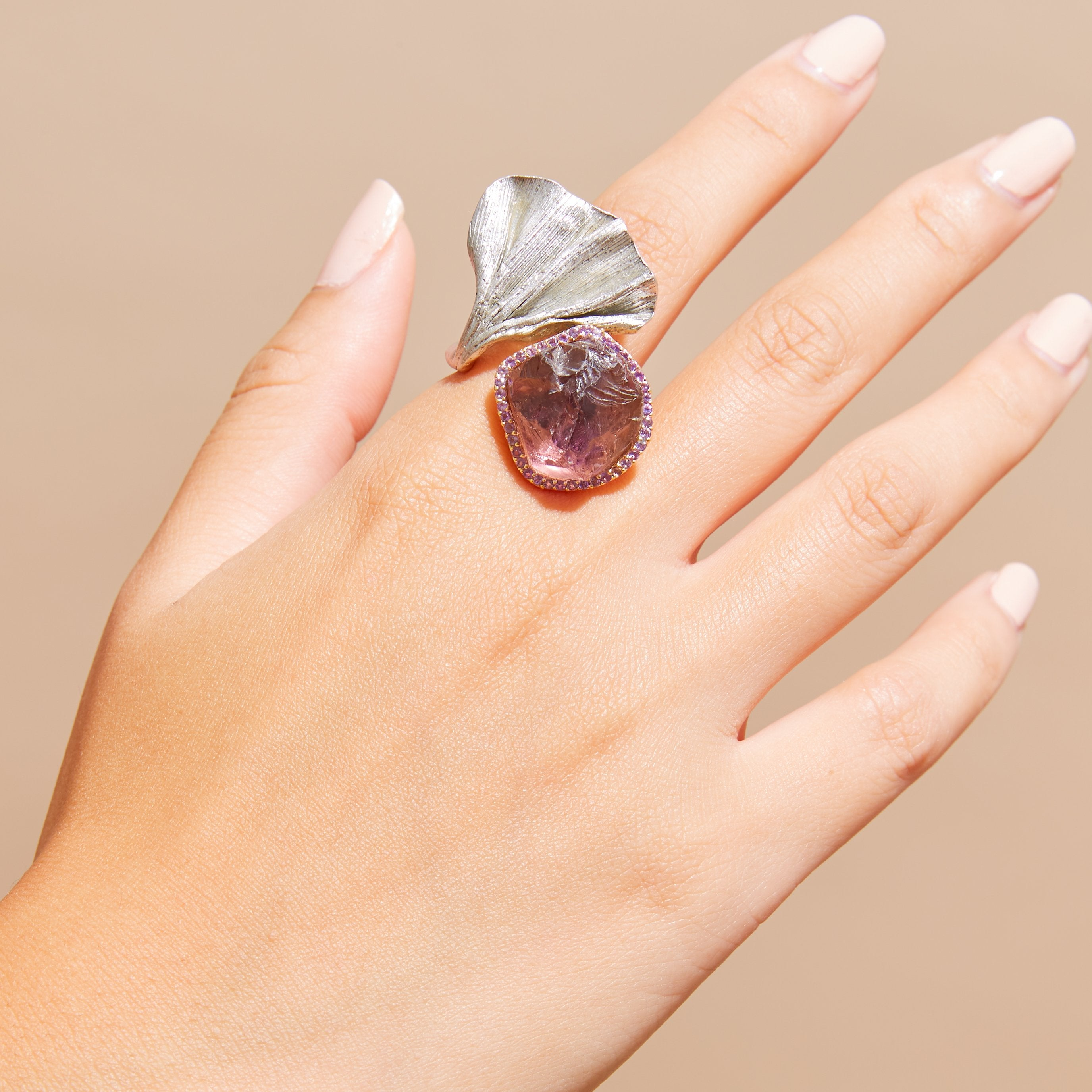 Candel Amethyst and Ring