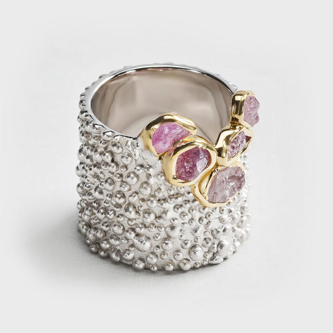 Rhonia Pink Sapphire Ring