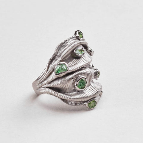 Carilyn Chrome Diopside Ring