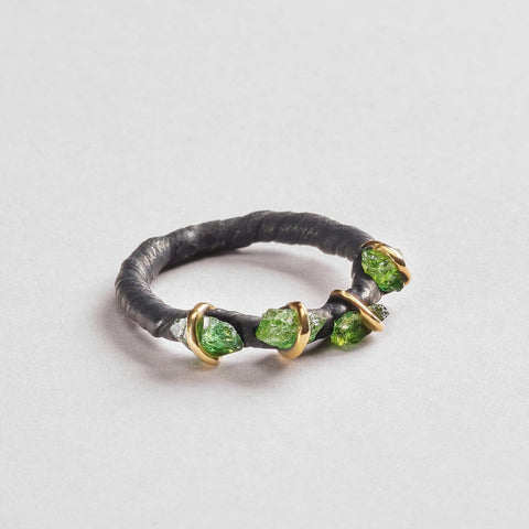 Circe Chrome Diopside Ring
