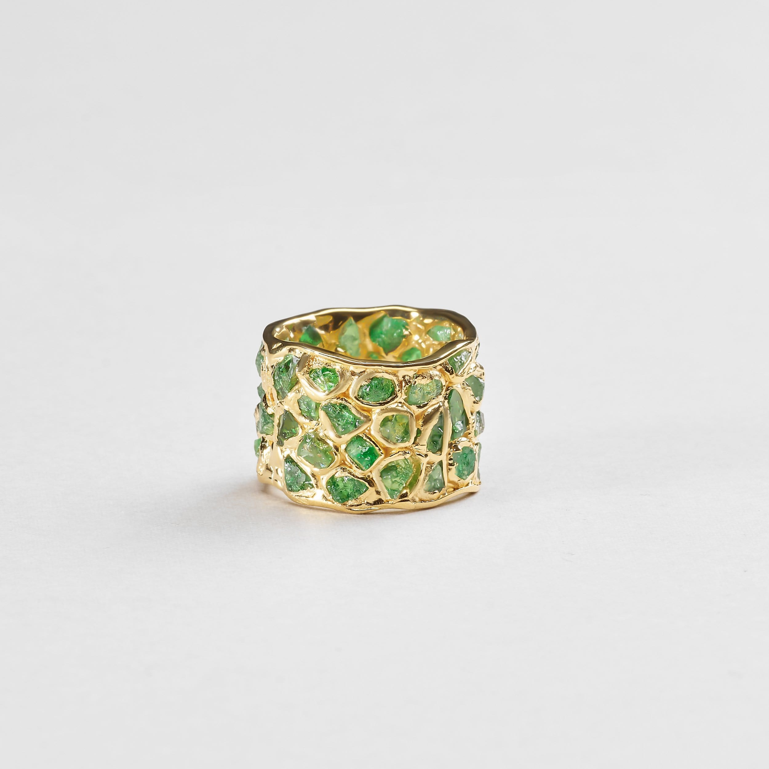 Alcina Chrome Diopside Ring