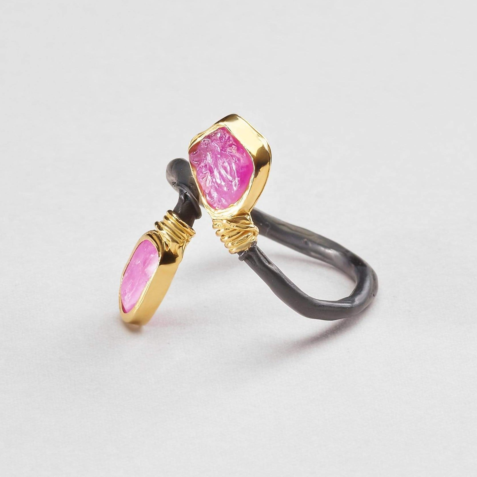 Airlia Pink Sapphire Ring