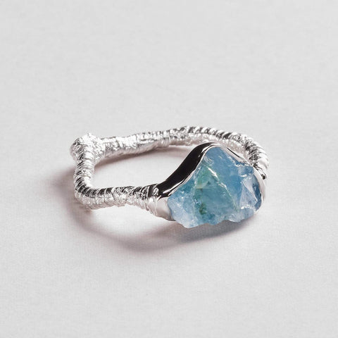 Gatria Aquamarine Ring