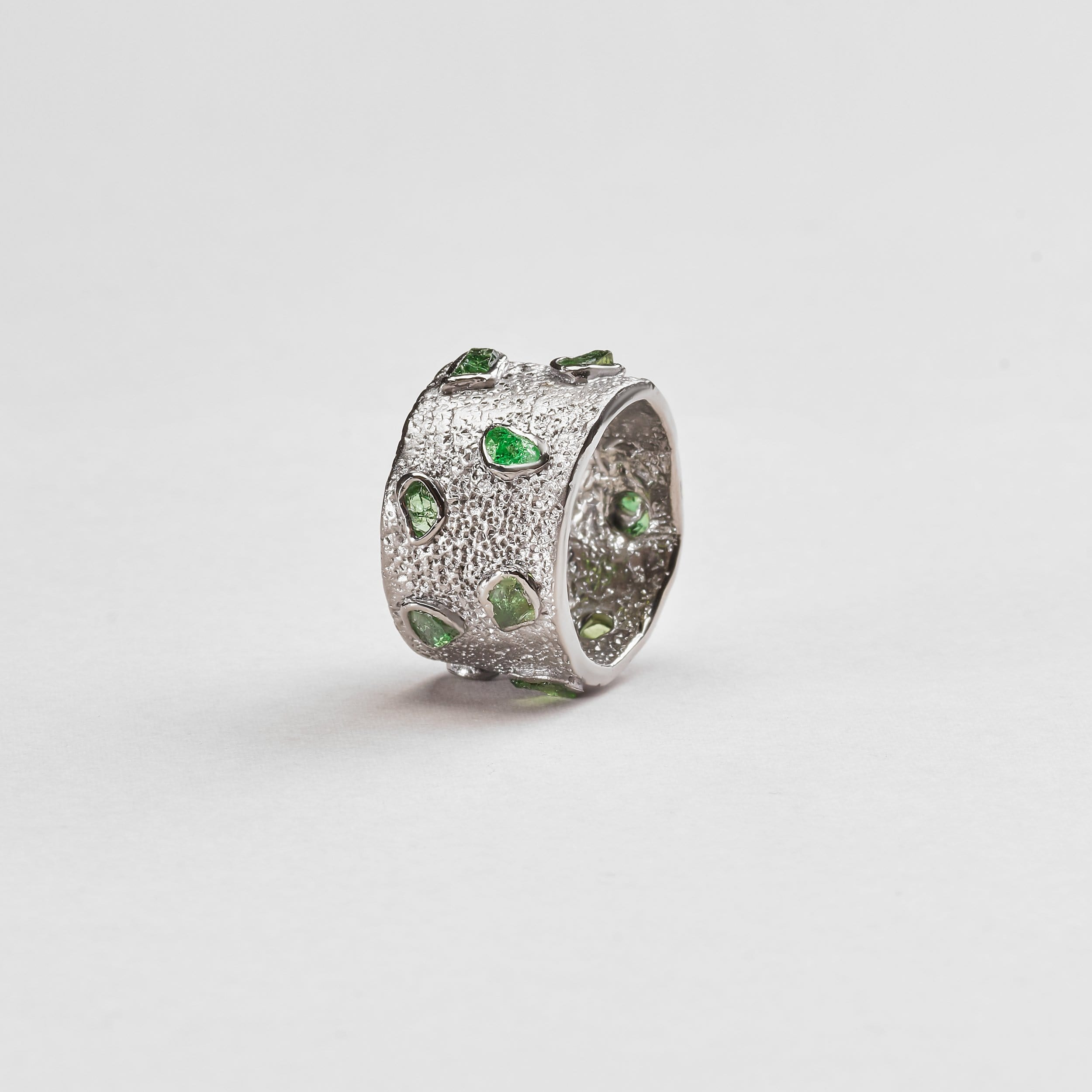 Sirena Chrome Diopside Ring
