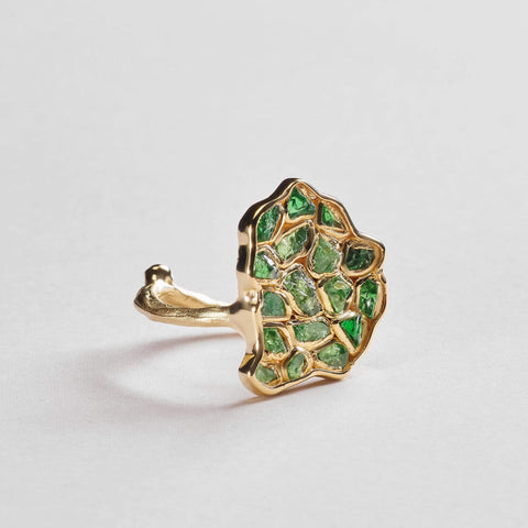 Aradia Chrome Diopside Ring