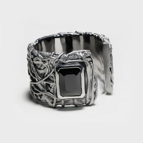 Regin Black Onyx Ring