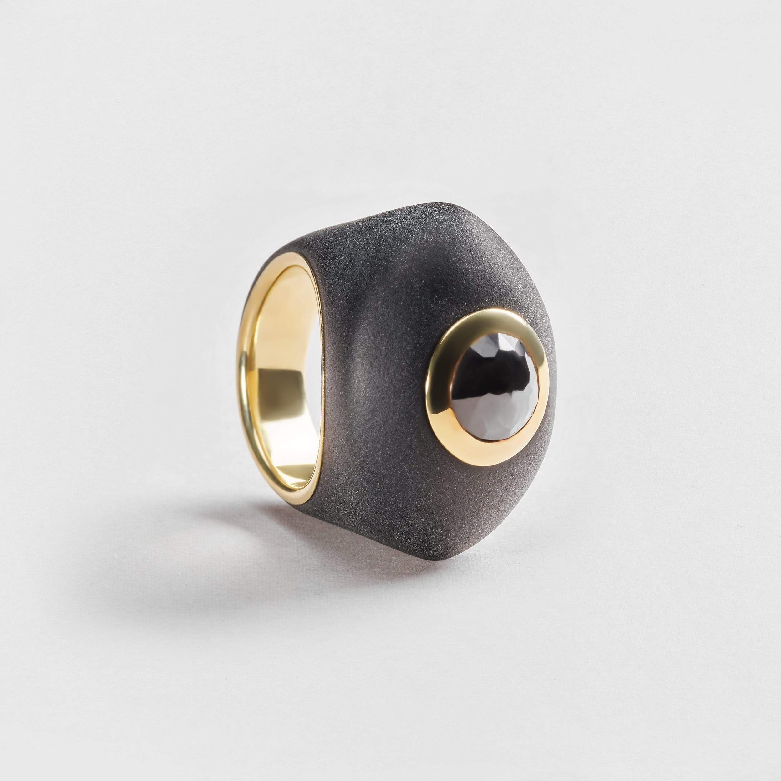 Cyren Black Diamond Ring