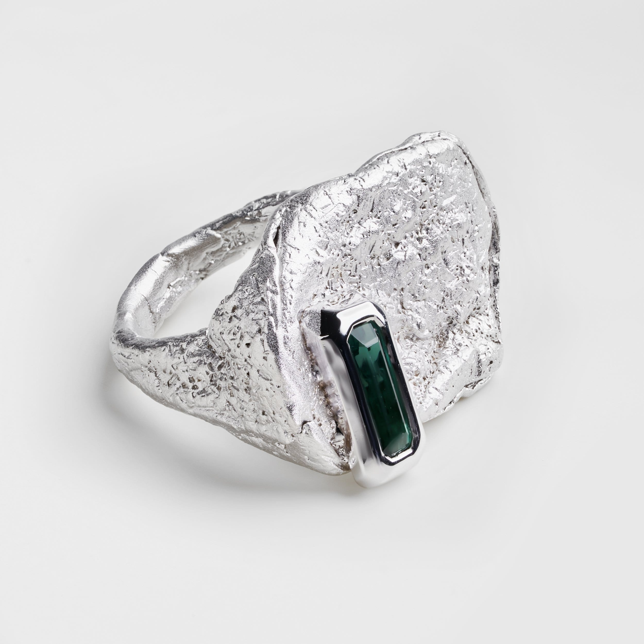 Neri Green Tourmaline Ring