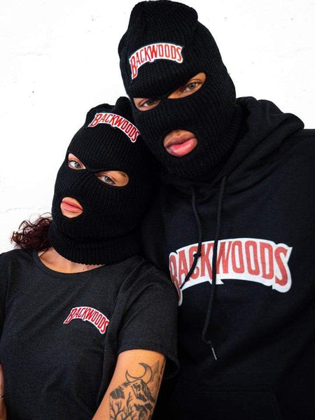 Backwoods Embroidered Ski Mask - The New Urban Thrifters