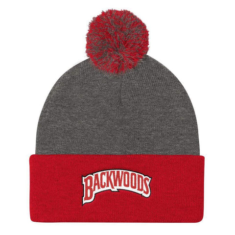 Classic Backwoods Pom Pom Beanie - The New Urban Thrifters