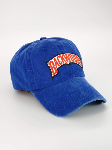 Embroidered Blue Denim Backwoods Dad Hat - The New Urban Thrifters