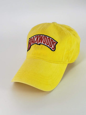 Embroidered Yellow Backwoods Dad Hat - The New Urban Thrifters