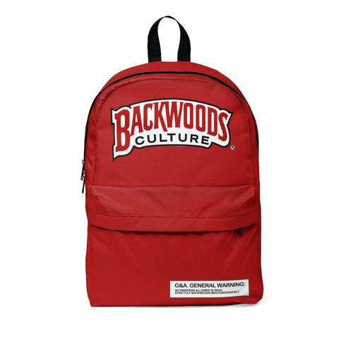 Red Culture Backwoods Backpack - The New Urban Thrifters