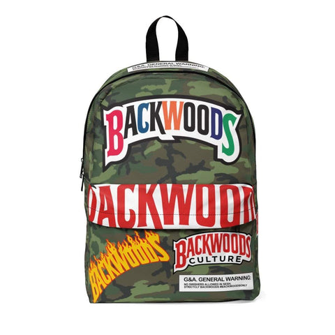 Special Edition Camo Colour Backwoods Backpack - The New Urban Thrifters