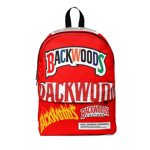 Special Edition Red Colour Backwoods Backpack - The New Urban Thrifters