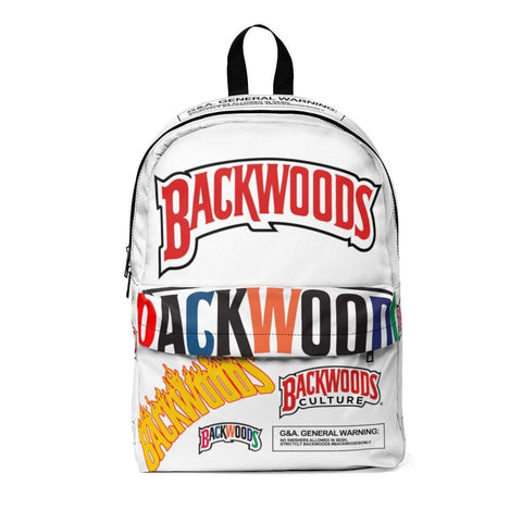 White Swag Classic Backwoods Culture Backpack - The New Urban Thrifters