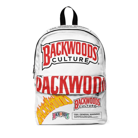 White Swag Pack Backwoods Culture Backpack - The New Urban Thrifters