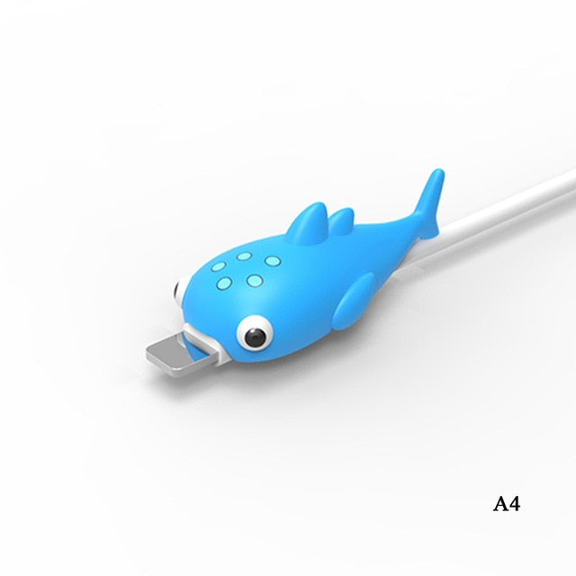 My Cable Buddy™ Bright Blue Fish