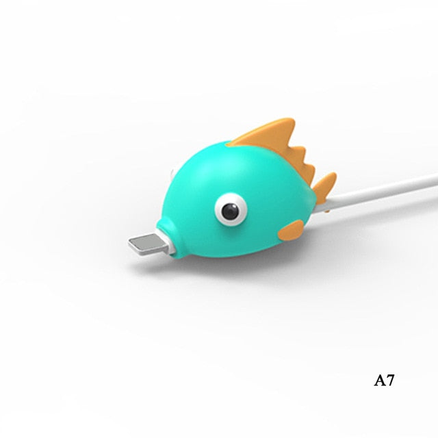 My Cable Buddy™ Green Fish