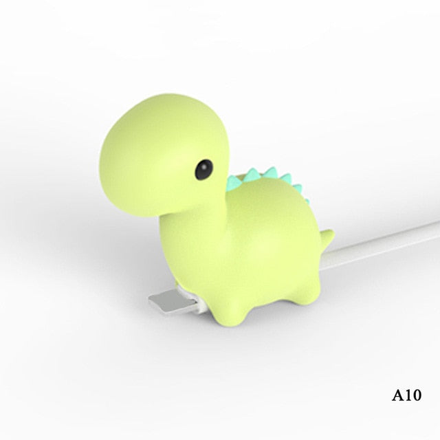 My Cable Buddy™ Green Dino
