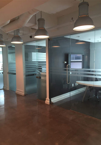 frameless glass walls