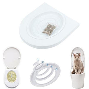 50%OFF! Cat Toilet Training Kit