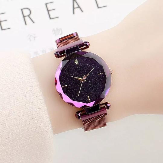 Star-studded magnetic ladies watch【ONLY TODAY $15.99】