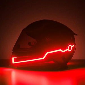 😍Last batch $26.99 - 70% OFF DISCOUNT-Night Safety Motorcycle Helmet LED Stripe