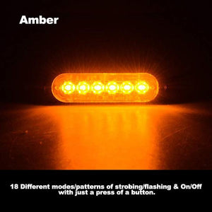 【LIMIT TIME ONLY $8.5】Car Flexible Warning Strobe/Work Lights!!!