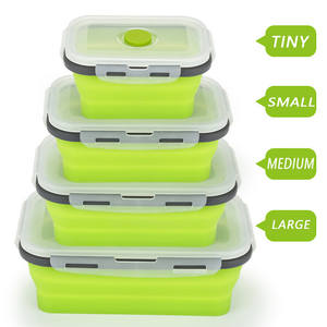 (50% OFF TODAY) Silicone Foldable Lunchbox