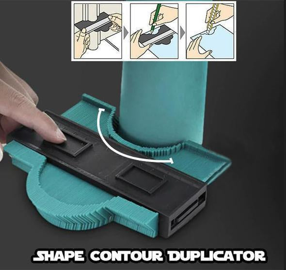 Get Up to 80% OFF - Adjustable Contour Duplication Gauge Solid Tool