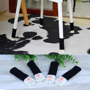 CAT PAW CHAIR SOCKS (4PCS) - 35% OFF Today