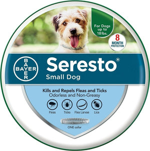 Seresto 8 Month Flea & Tick Prevention Collar for Large Dogs
